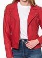 Only Biker Ceket Kırmızı